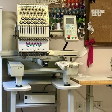 Atelier de couture Céline - Cancale - création Célicime - la brodeuse